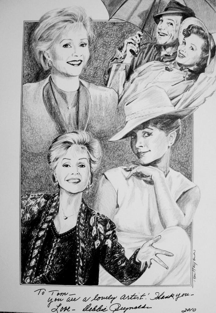 Debbie Reynolds par Tom-Heyburn